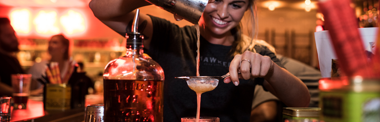 Enjoy amazing food and drinks at Hawkers Asian Street Fare