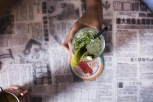 Gin Rickshaw Hawkers Asian Street Fare