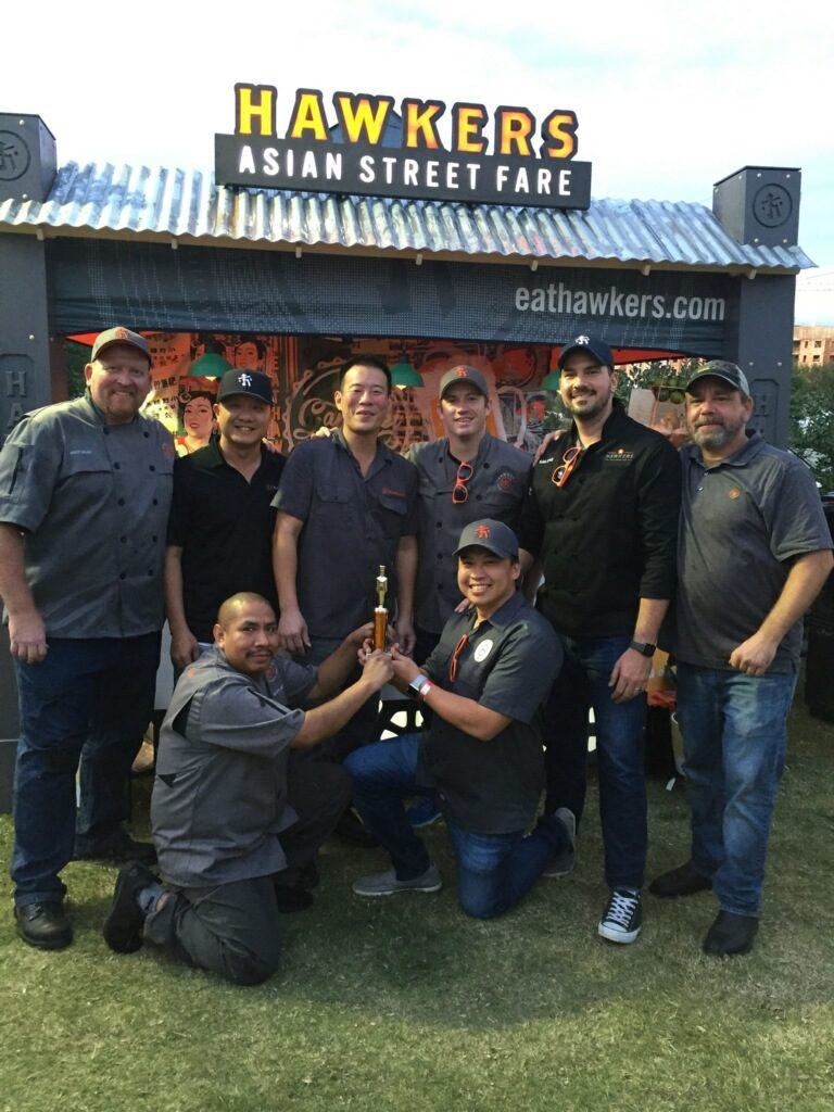HAWKERS ASIAN STREET FARE Wins Taste of Atlanta 2017