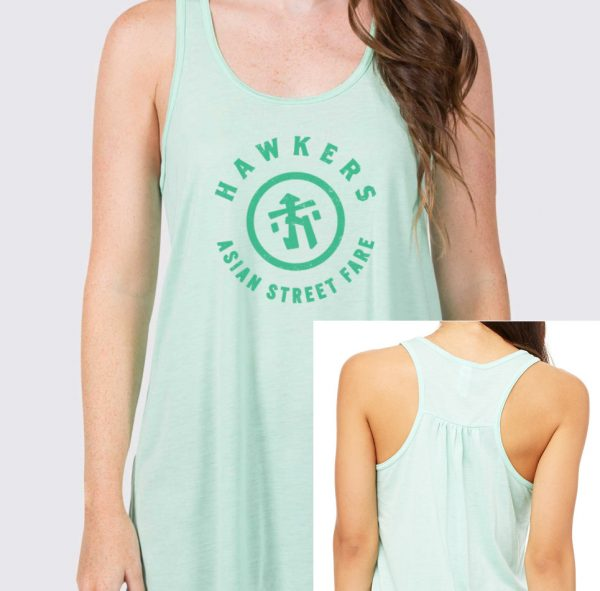 Hawkers-Merchandise-Mint-Green-Badge-Racerback-Tank-Design