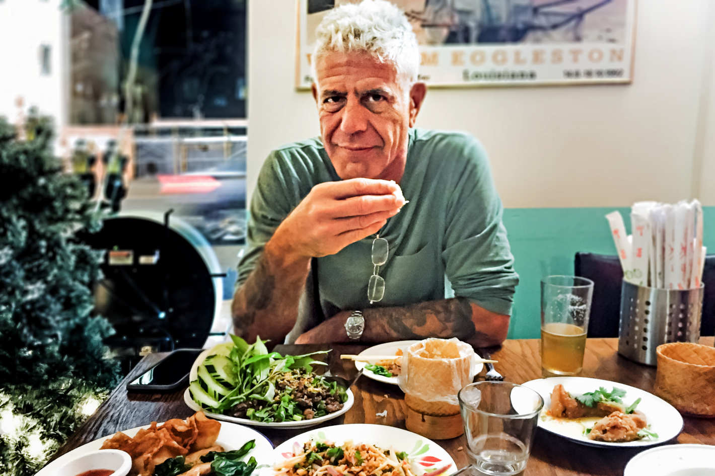 Anthony Bourdain Introduced the World to Street Eats