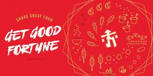 Share good food Get good fortune