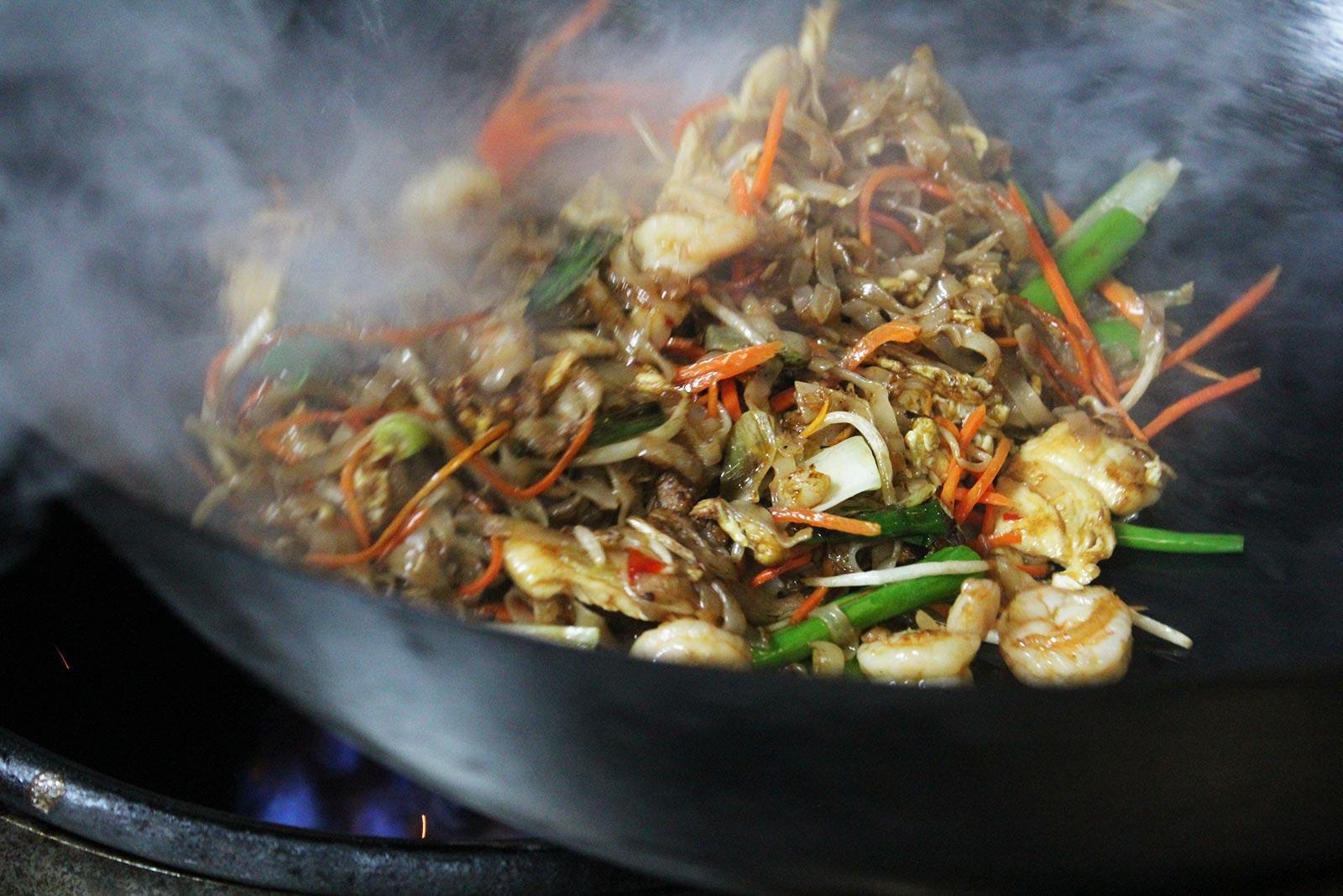 stir fry wok hei