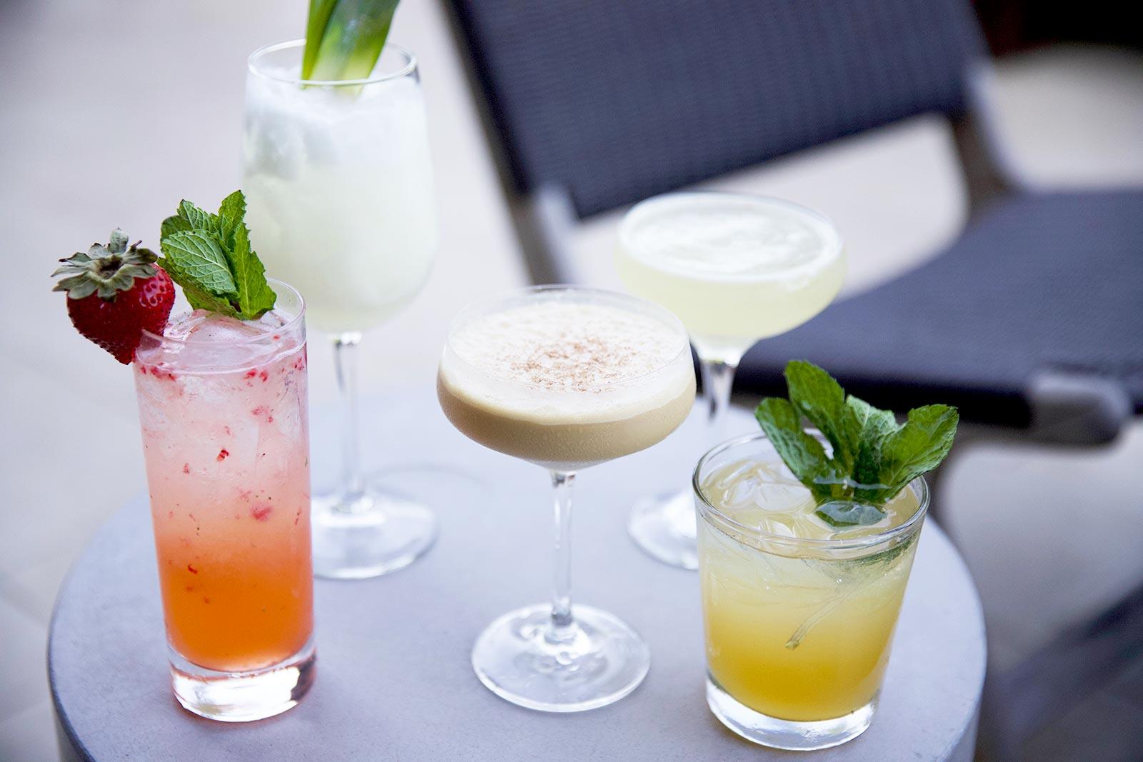 patio cocktails