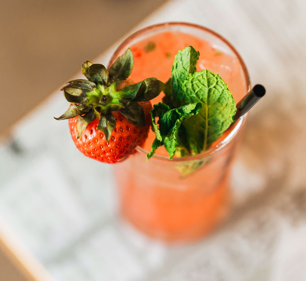 Sakeberry cocktail