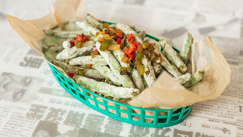 five spice green beans
