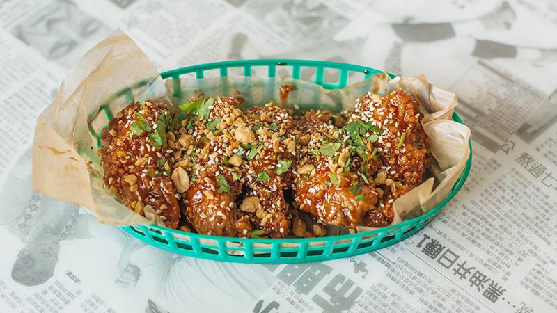 Korean twice fried wings